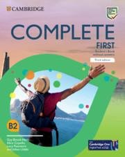 Complete First Student's Book without Answers, 3rd - Guy Brook-Hart