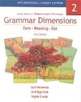 GRAMMAR DIMENSIONS: FORM, MEANING AND USE Book 2