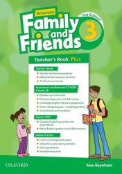 Family and Friends 3 American Second Edition Teacher´s book Pack - Raynham Alex