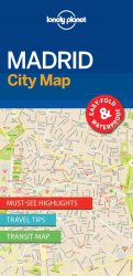 Lonely Planet Madrid City Map 1.