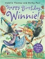 HAPPY BIRTHDAY WINNIE + AUDIO CD PACK