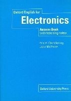 OXFORD ENGLISH FOR ELECTRONICS ANSWER BOOK WITH TEACHING NOTES
