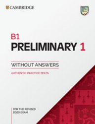 B1 Preliminary 1 for revised exam from 2020 Student´s Book without answers