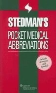 Stedman´s Pocket Medical Abbreviations