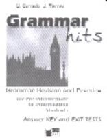 BLACK CAT GRAMMAR HITS PRE-INTERMEDIATE TO INTERMEDIATE KEY