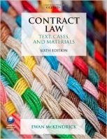 Contract Law Text Cases & Mat 6th Ed.