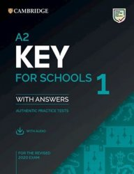 A2 Key for Schools 1 for revised exam from 2020 Student´s Book with answers - neuveden