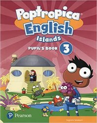Poptropica English Islands 3 Pupil´s Book w/ Online Game Access Card