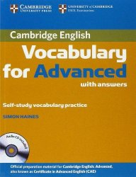 Cambridge Vocabulary for Advanced Book with answers and Audio CD