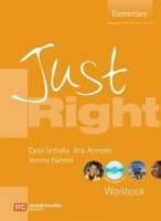 JUST RIGHT ELEMENTARY WORKBOOK + WORKBOOK AUDIO CD