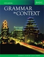 GRAMMAR IN CONTEXT 5th Edition BASIC International Student Edition