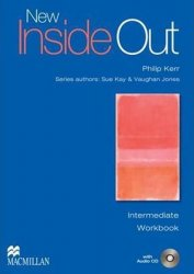 New Inside Out Intermediate: WB (Without Key) + Audio CD Pack - Sue Kay