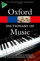 OXFORD DICTIONARY OF MUSIC 6th Edition (Oxford Paperback Reference)