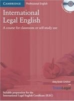 International Legal English Student's Book + Audio Cd