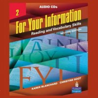 For Your Information 2 - Reading and Vocabulary Skills, Audio CDs 2nd Revised edition