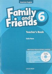 Family and Friends American English 6 Teacher´s Book CD-ROM Pack
