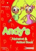 ANDY´S ALPHABET AND ACTION BOOK + AUDIO CD