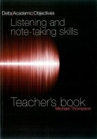 DELTA ACADEMIC OBJECTIVES: LISTENING SKILLS TEACHER´S BOOK