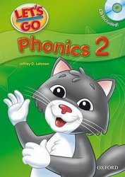 Let´s Go 2 Phonics Book + Audio CD Pack (3rd)