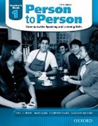 Person to Person 1 Teacher´s Book (3rd) - Jack C. Richards