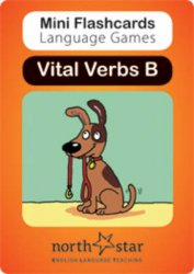 MINI FLASHCARDS LANGUAGE GAMES: Vital Verbs - Card Pack B
