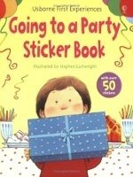 First Experience Sticker Book Going to a Party