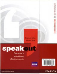 Speakout Elementary Workbook EText Access Card - 1st Student Manual/Study Guide