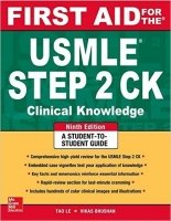 First Aid for the USMLE Step 2 CK, 9th Ed.