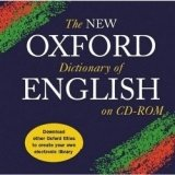 THE NEW OXFORD DICTIONARY OF ENGLISH on CD-ROM