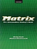 MATRIX PRE-INTERMEDIATE STUDENT´S BOOK