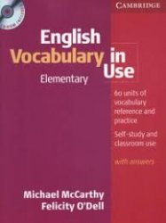 English Vocabulary in Use Elementary With Answers + CD-Rom Pack