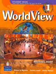 WorldView 1 w/ Self-Study Audio CD - Michael Rost