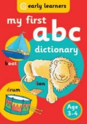 My First ABC Dictionary - Age 3-4