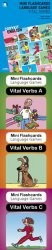 MINI FLASHCARDS LANGUAGE GAMES: Vital Verbs - RESOURCE PACK (Book + 3 card packs)