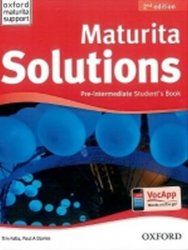 Maturita Solutions Pre-Intermediate Student´s Book 2nd (CZEch Edition) - Paul A. Davies;Tim Falla