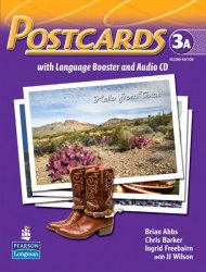 Postcards: Student Book 3A with audio CD - Abbs Brian;Barker Chris