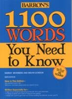 1100 Words You Need to Know, 6th ed.