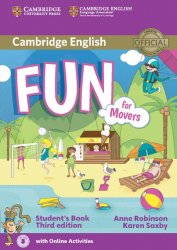 Fun for Movers Student's Book with Audio with Online Activities, 3E