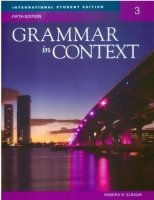 GRAMMAR IN CONTEXT 5th Edition 3 TEACHER´S BOOK