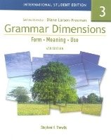 Grammar Dimensions: Form, Meaning and Use 3 Student´s Book International Student Edition