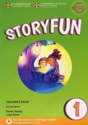 Storyfun for Starters Level 1 Teacher´s Book with Audio