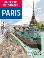 Carnet de coloriages: Paris petit format