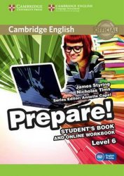 Prepare 6/B2 Student´s Book and Online Workbook - James Styring