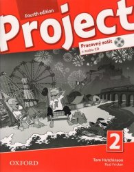 PROJECT Fourth Edition 2 WORKBOOK with AUDIO CD (SLOVENSKÁ verze) - Tom Hutchinson; Rod Fricker