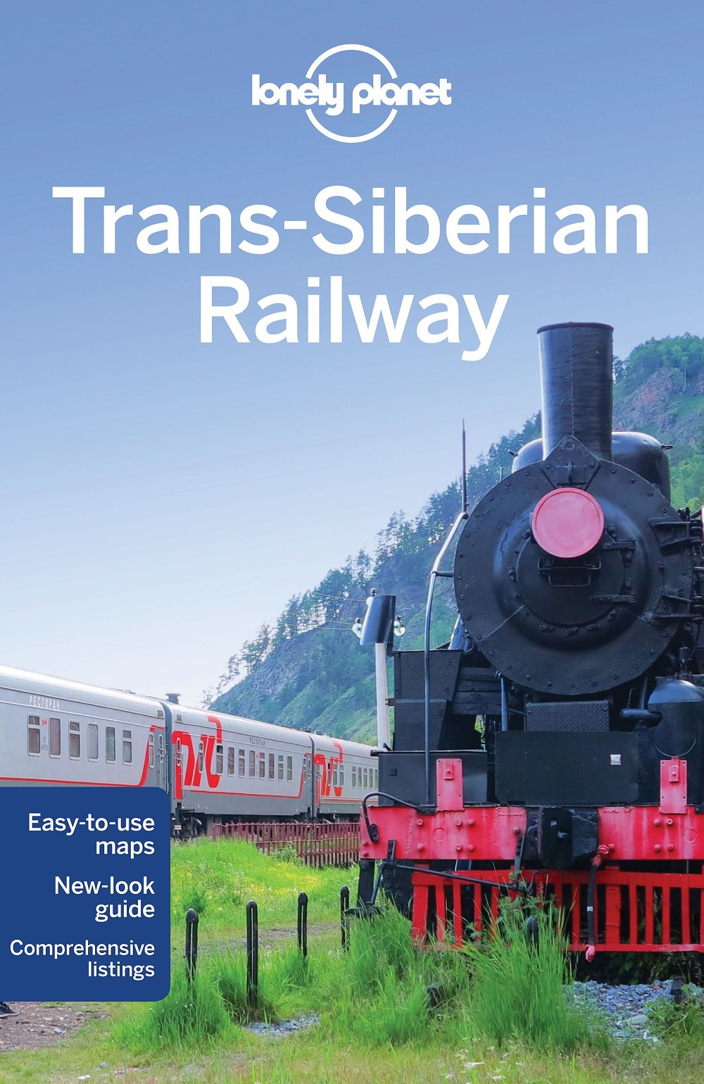 Lonely Planet Trans-siberian Railway 5.