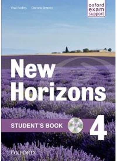 New Horizons 4 Student´s Book with CD-ROM Pack - Paul Radley