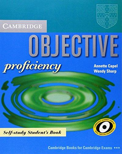 Objective Proficiency Self-study Student's Book - Capel, A. ...