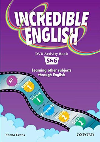 Incredible English: Level 5 & 6 - DVD Activity Book - Shona ...