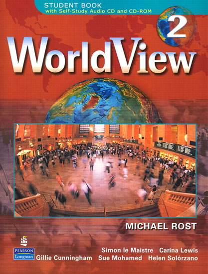 WorldView 2 Student Book 2B w/CD-ROM (Units 15-28) - Michael Rost