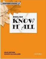 ENGLISH KNOW IT ALL 2 TEACHER´S BOOK - MCCLELLAND, S., SNYDE...